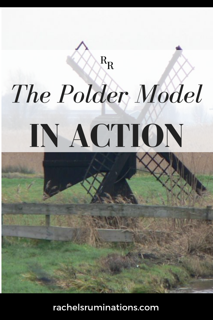 The polder model is a uniquely Dutch method of decision-making.