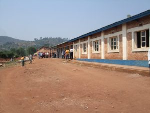 a classroom block in Kirundo