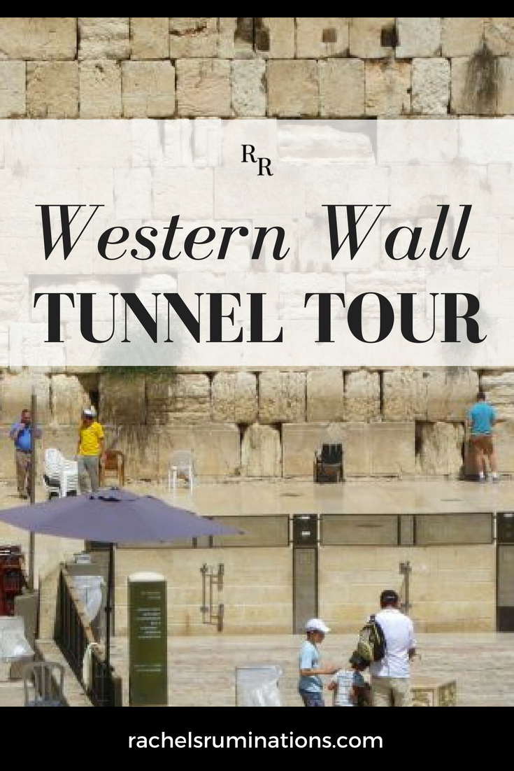 The Western Wall Tunnel Tour(also called the Kotel Tunnel Tour) allows tourists to take a look at a section of the wall that was invisible for centuries. #thewesternwall #thekotel #jerusalem #israel #visitisrael #c2cgroup via @rachelsruminations