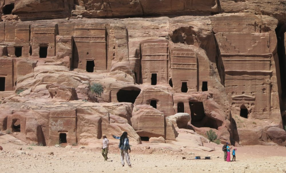 some smaller tombs at Petra: Petra travel advice: 10 tips for visiting Petra