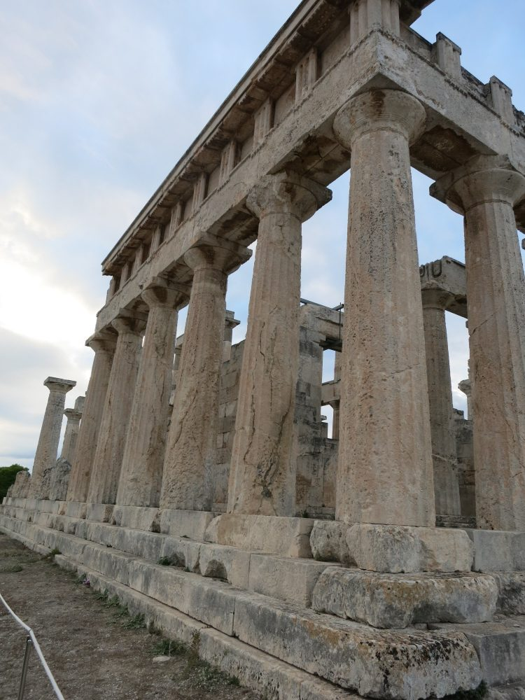The Temple of Aphaia on Aegina