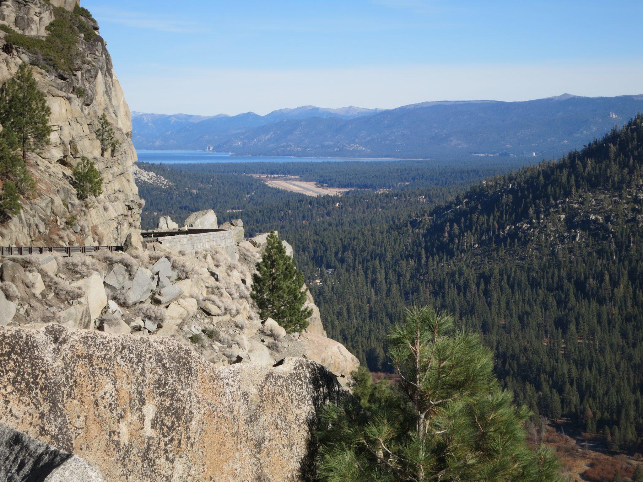 view over Lake Tahoe