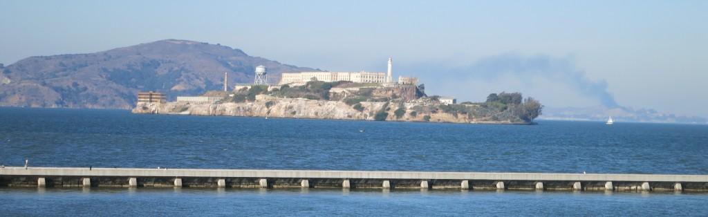 a view of Alcatraz