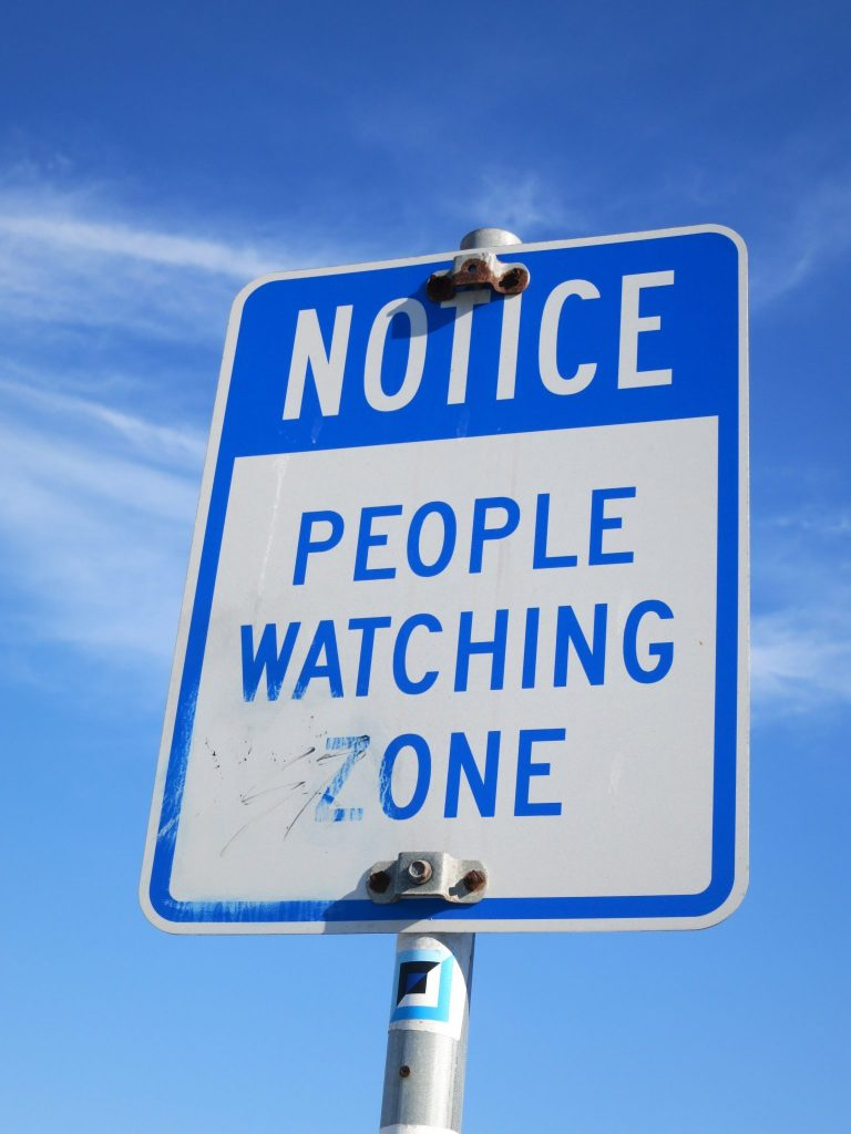 people watching zone