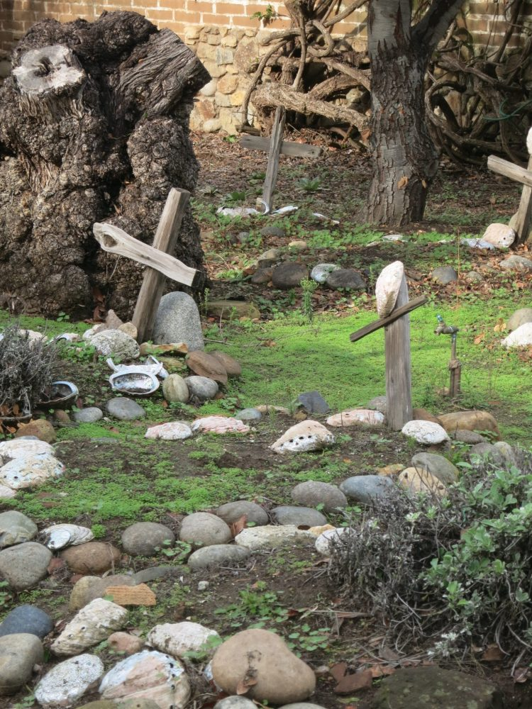 Carmel mission graves
