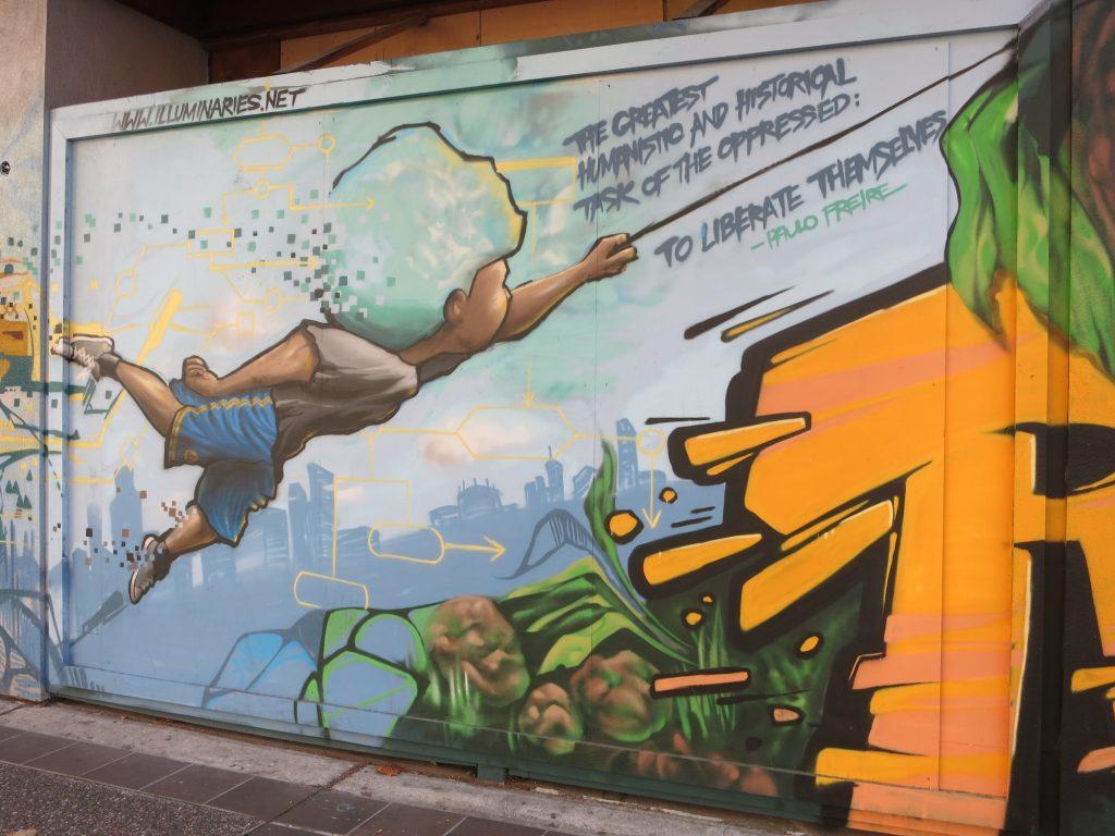 mural in Oakland