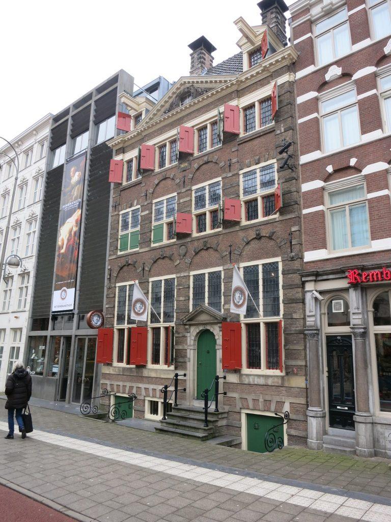 exterior of Het Rembrandthuis