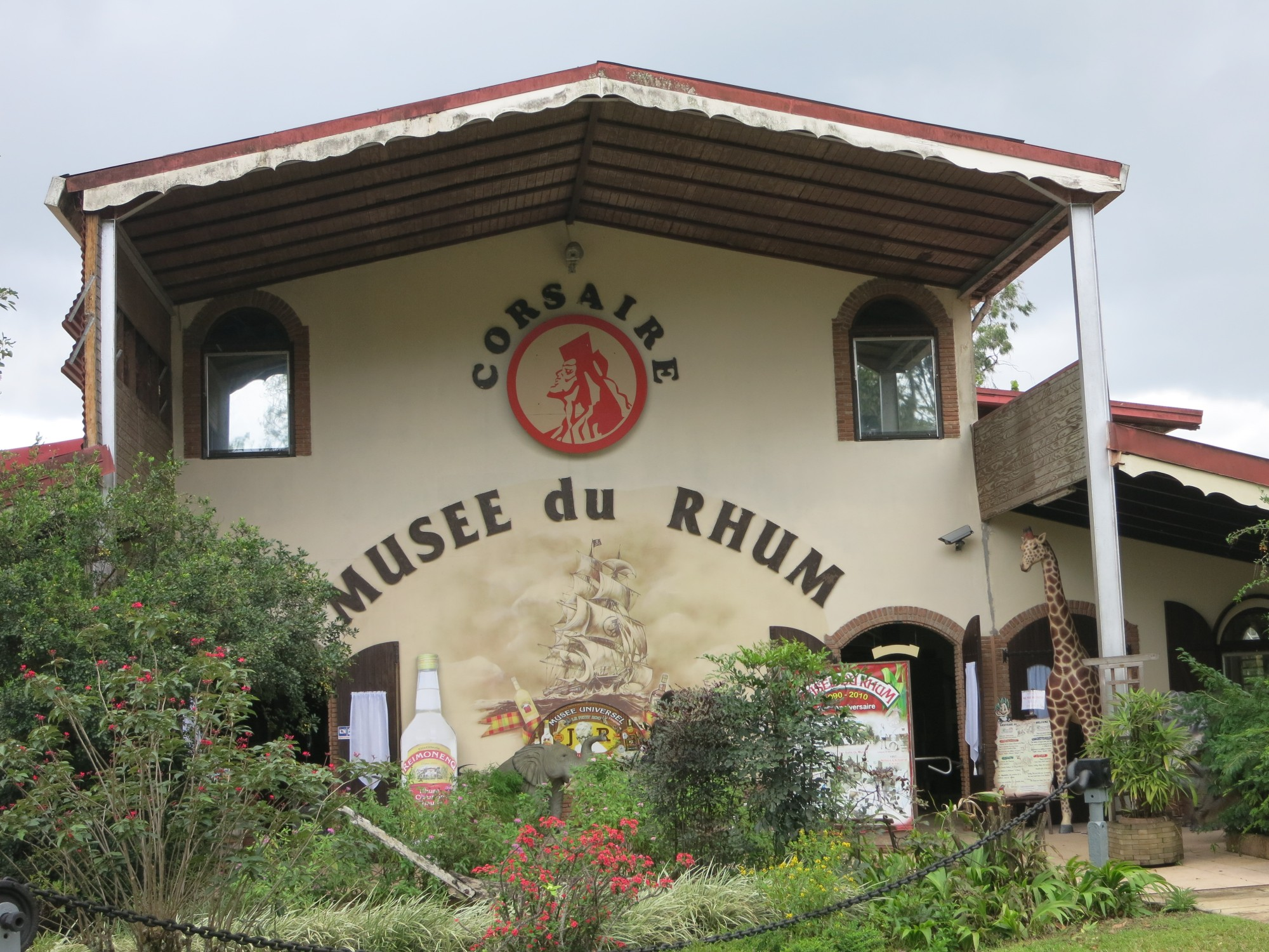 photo of the Rum Museum building