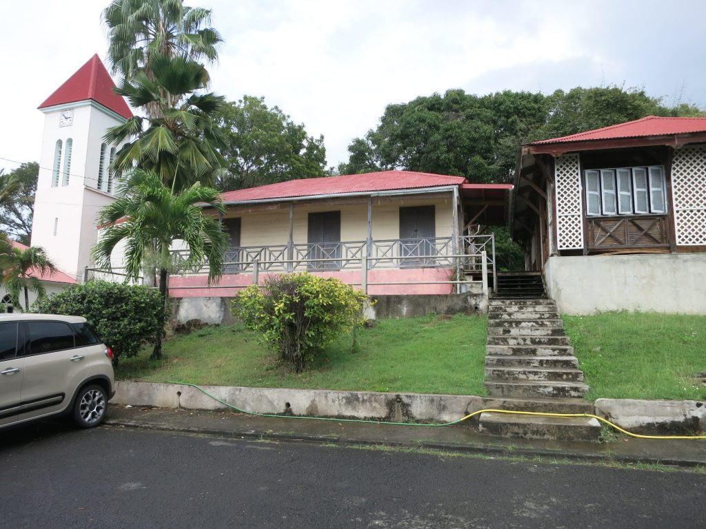 "view of the fictional police station in ""Death in Paradise"""