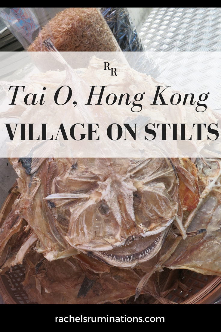 A stilt village in Hong Kong: Tai O