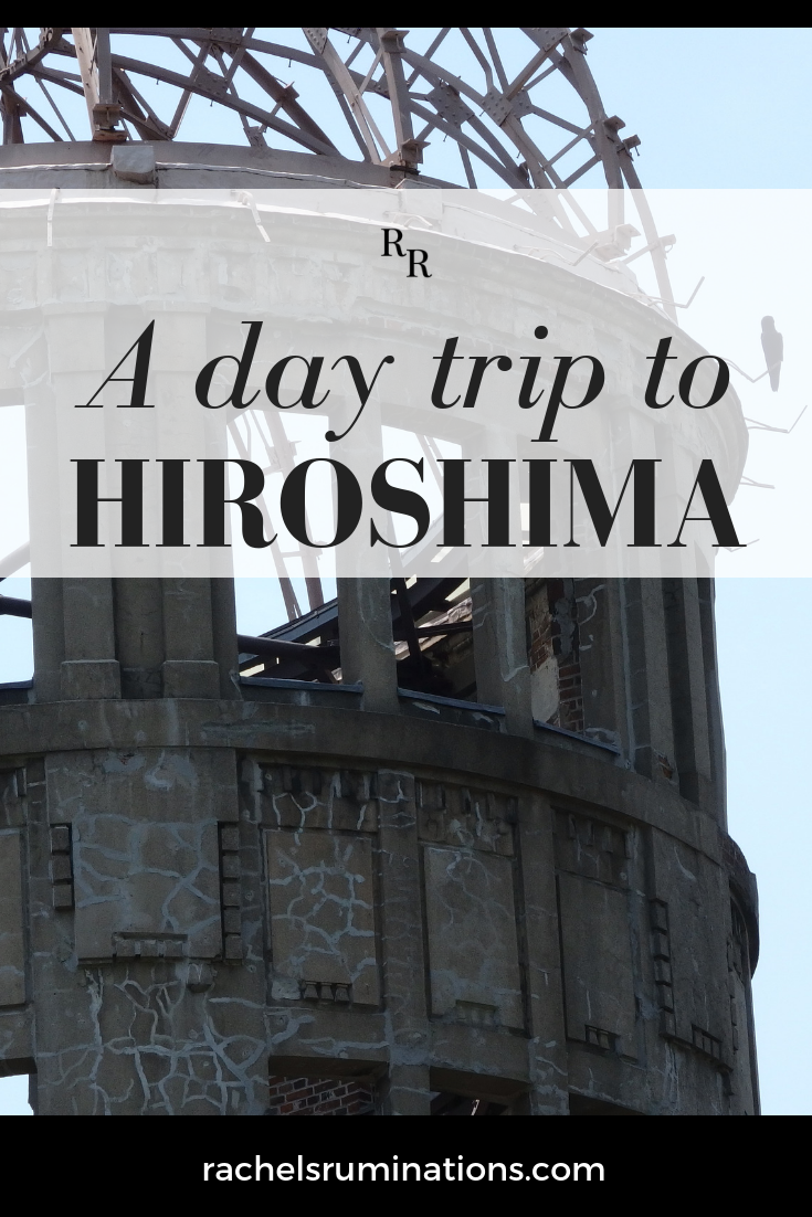 I decided to take a day trip to Hiroshima only because a friend insisted it was worth doing. I thought I already knew all about it. But he was right.