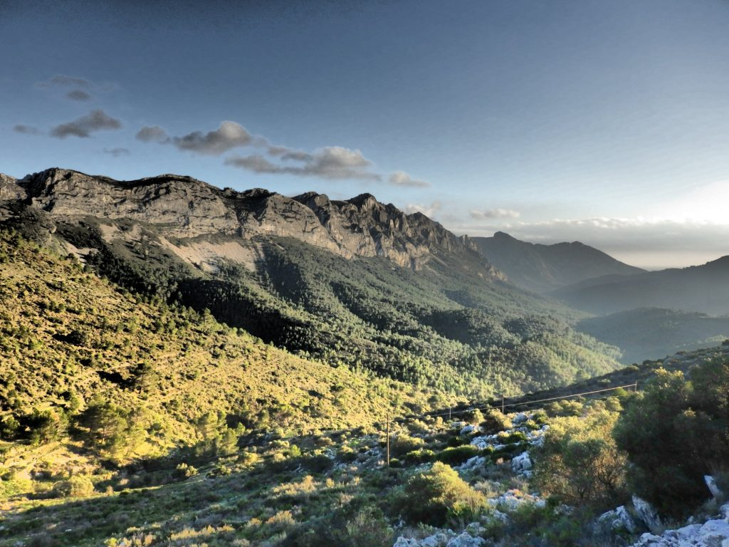a beautiful Costa Blanca view