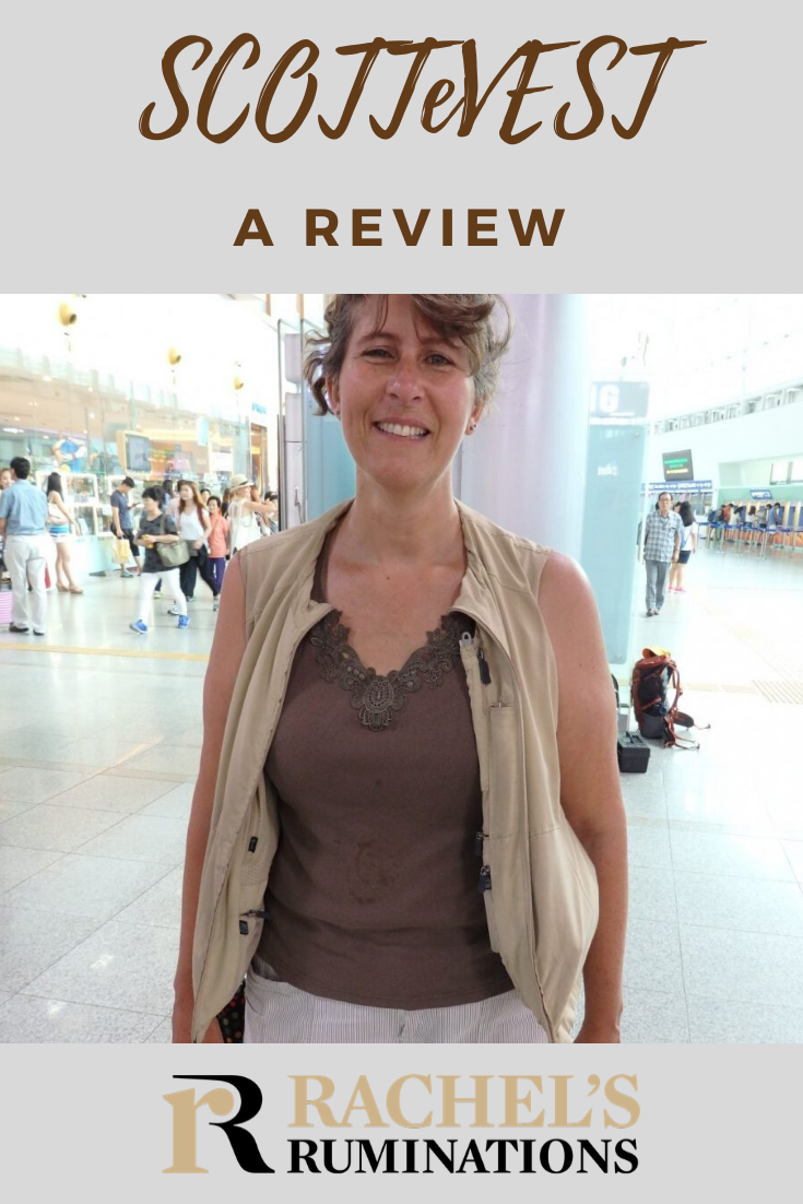 SCOTTeVEST 's unique selling point is pockets. While wearing it allowed me to have my hands free while I traveled, it has some drawbacks. Read the good, the bad and the ugly in my SCOTTeVEST review. #scottevest #review #travelvest via @rachelsruminations