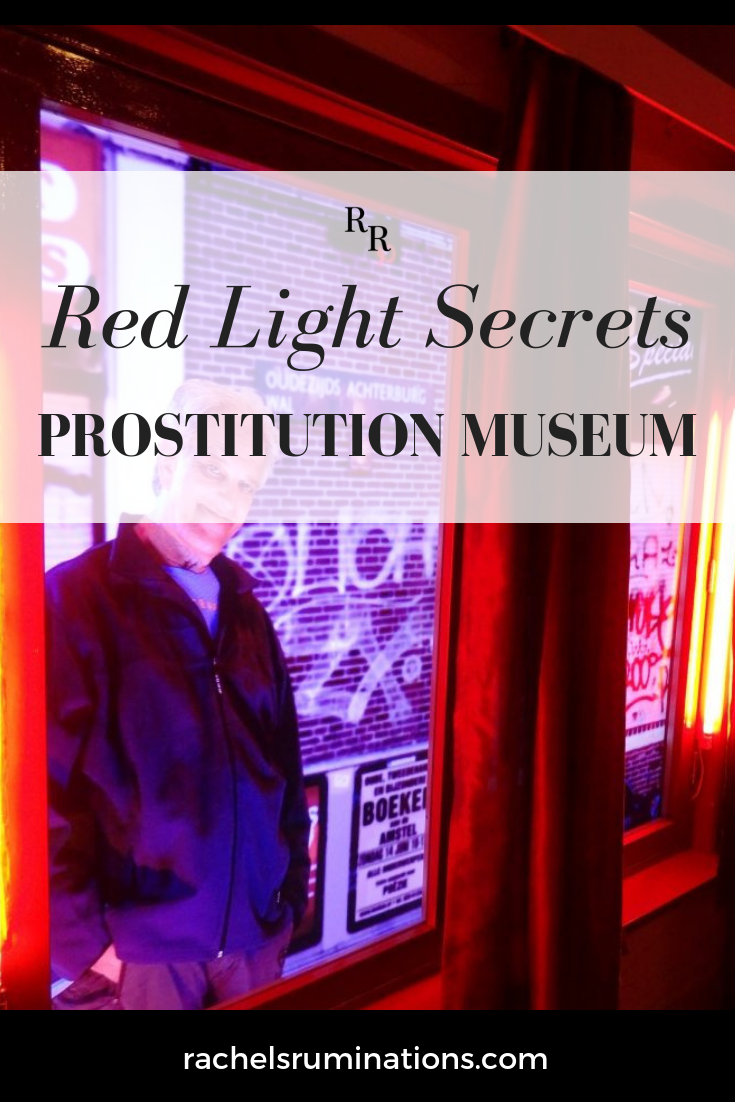 The Red Light Secrets Museum of Prostitution manages to be an intelligent, eye-opening and honest view of the world of prostitution in Amsterdam. #redlightsecrets #iamsterdam