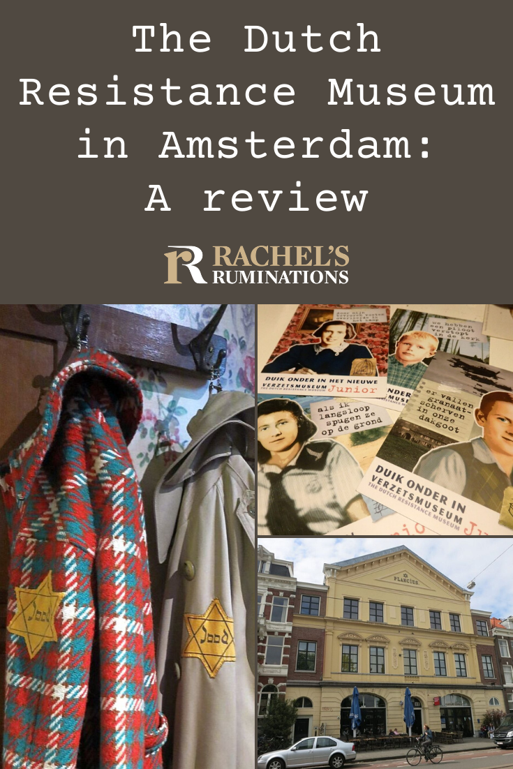 The Dutch Resistance Museum in Amsterdam looks at how the Dutch coped with the Nazis before and during the war: collaborate, resist, or just try to get by. Which would you have done? #resistance #WWII #Netherlands #Amsterdam via @rachelsruminations