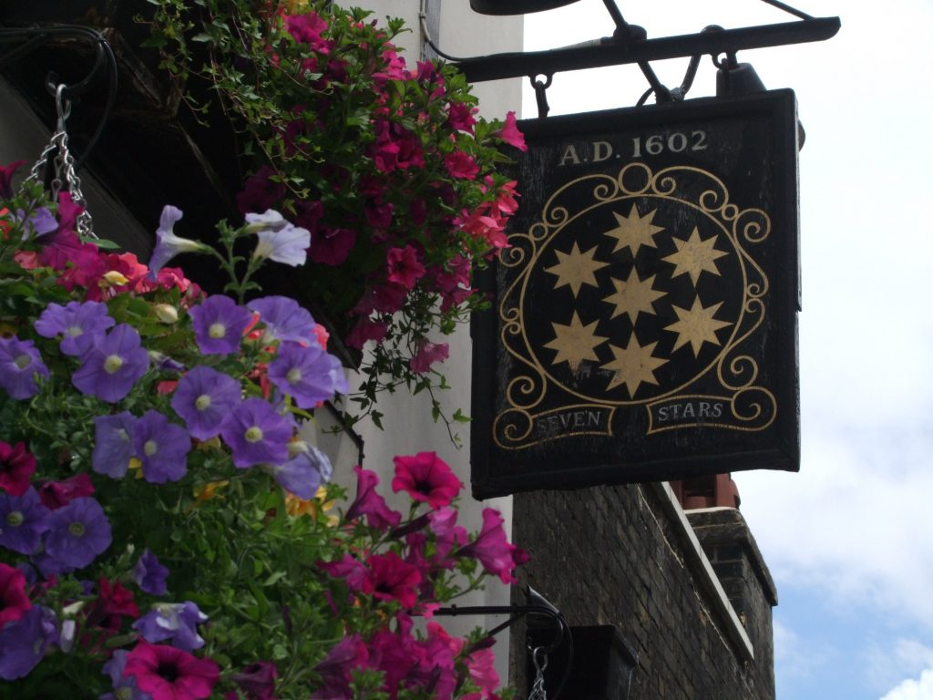 The Seven Stars pub in London