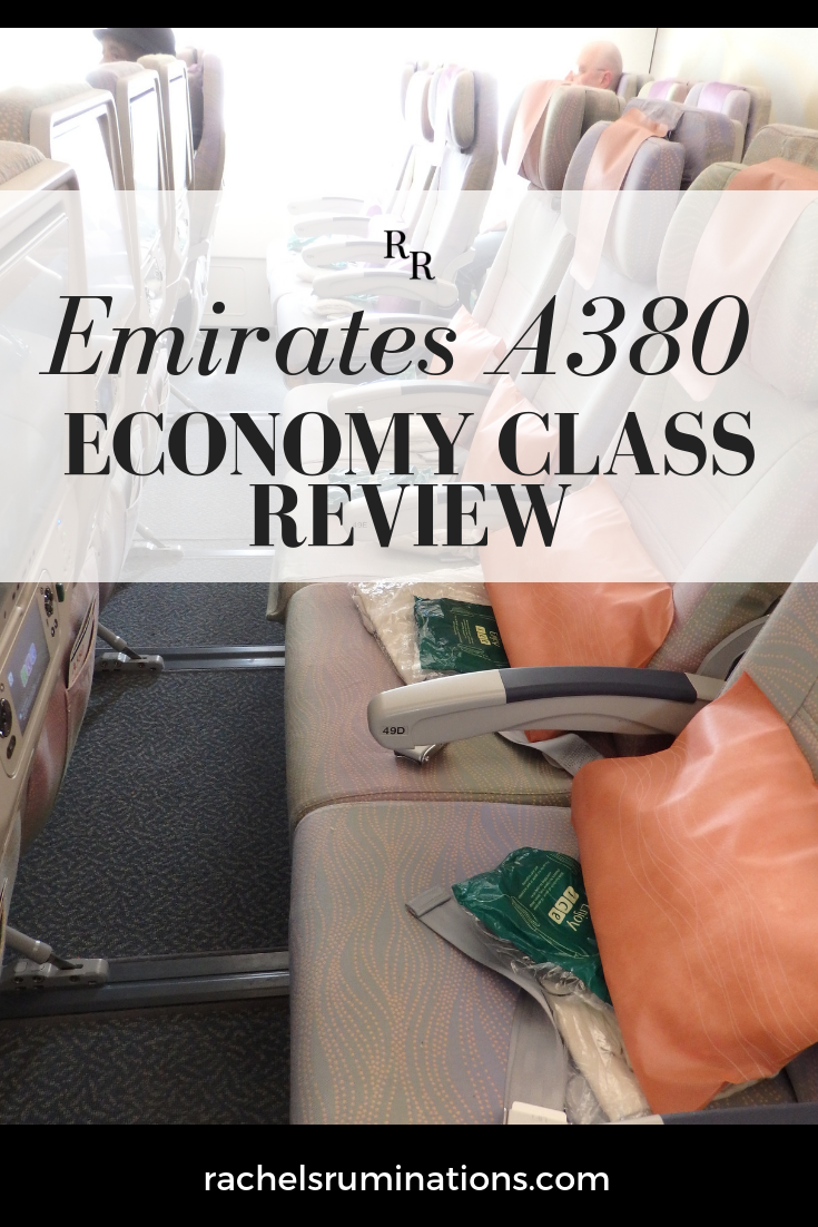 Emirates A380 economy class review