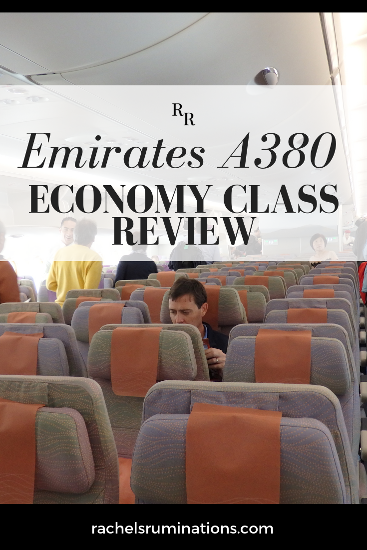 Emirates A380 Economy Class Review Rachel S Ruminations