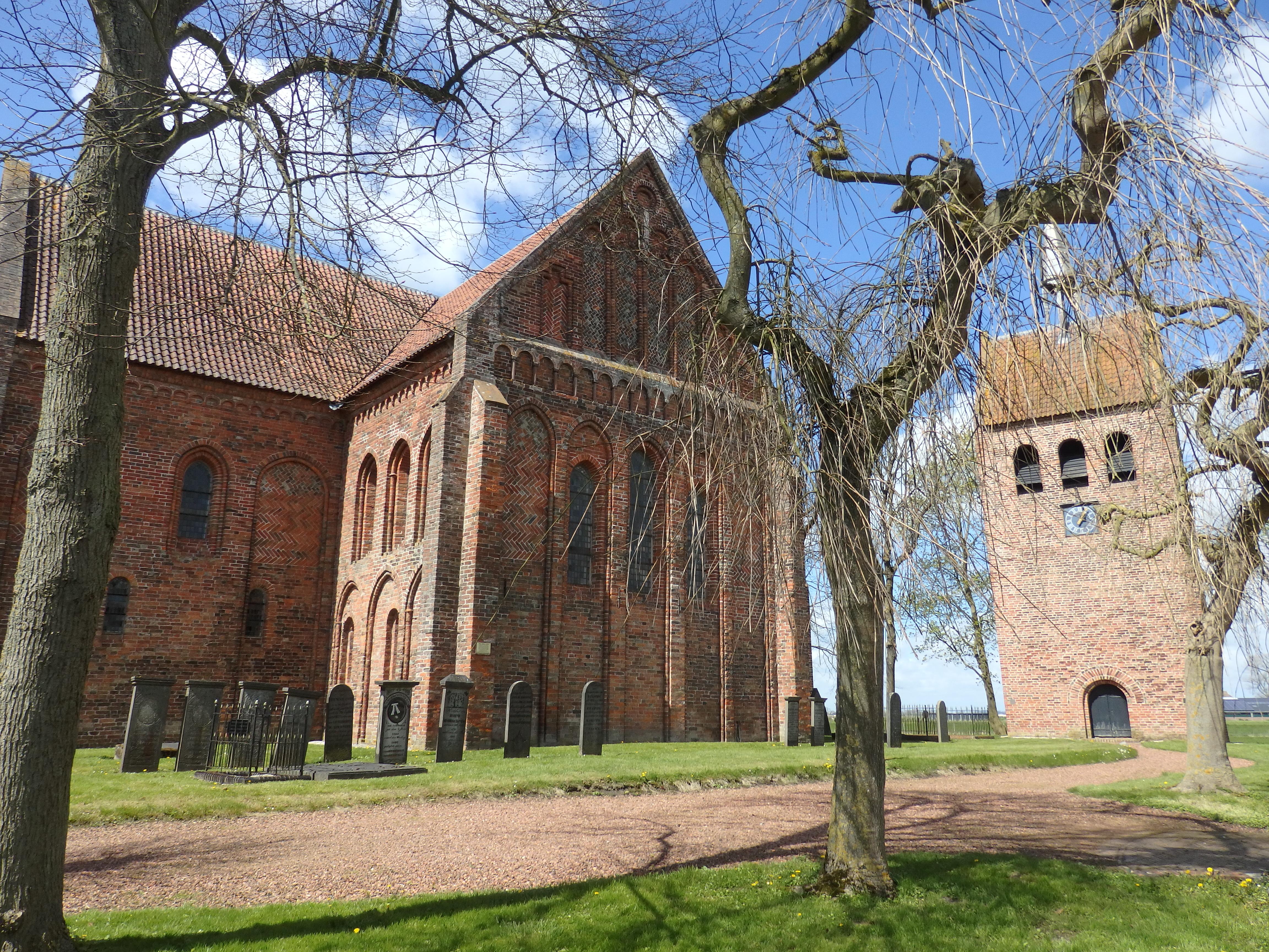 Garmerwolde church in Groningen province