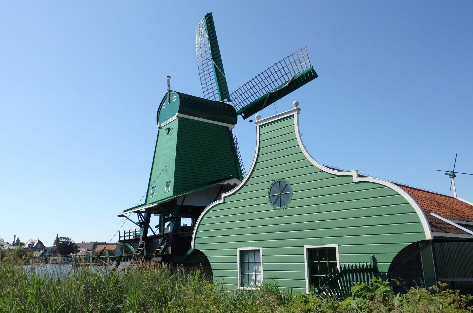 Poelenburg windmill: a sawmill at Zaanse Schans