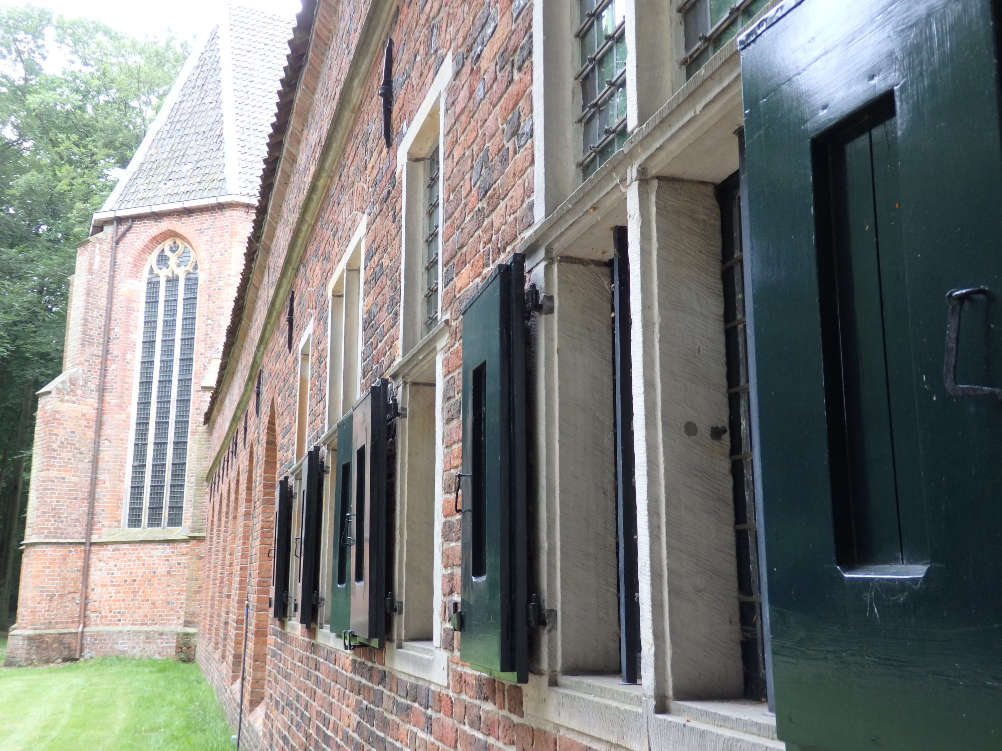 the cloister at Ter Apel