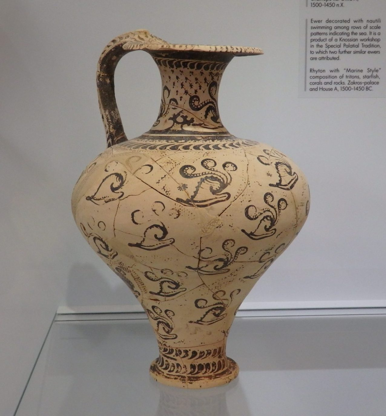 a ewer from Knossos