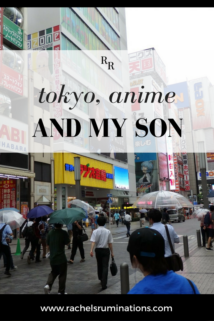The first place on Robert's list is Tokyo. Why? Because of his interest in Japanese animation and games — or, as he says it, anime and gaming. #tokyo #japan #anime Akihabara #c2cgroup via @rachelsruminations