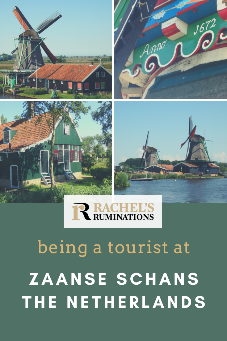 You've probably seen pictures of Zaanse Schans before; it's home to a collection of historical windmills, and it's fun to be a tourist in Zaanse Schans. Read all about it here! #ZaanseSchans #windmills #Netherlands via @rachelsruminations