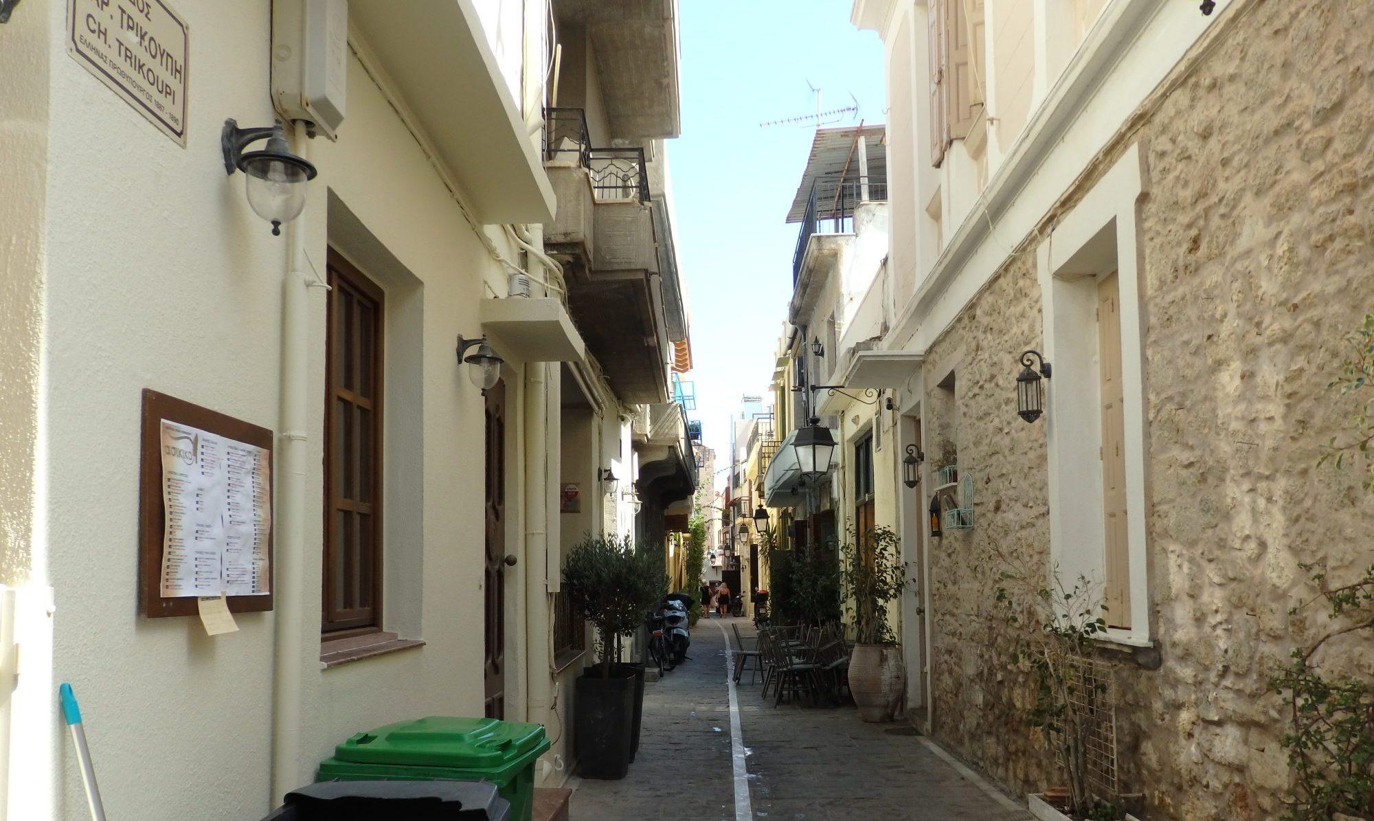 A side street in Rethymnos old center