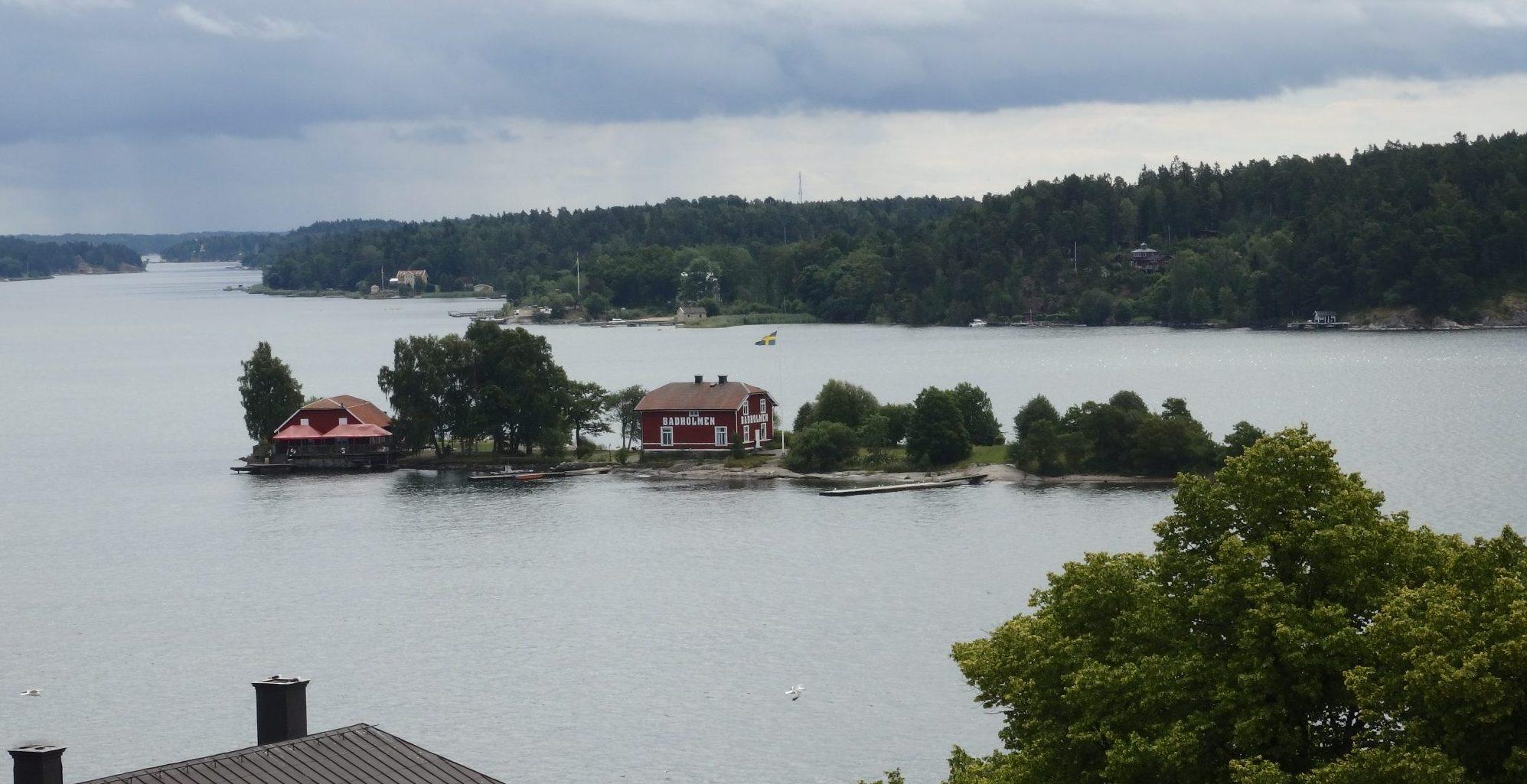 islands just off Vaxholm