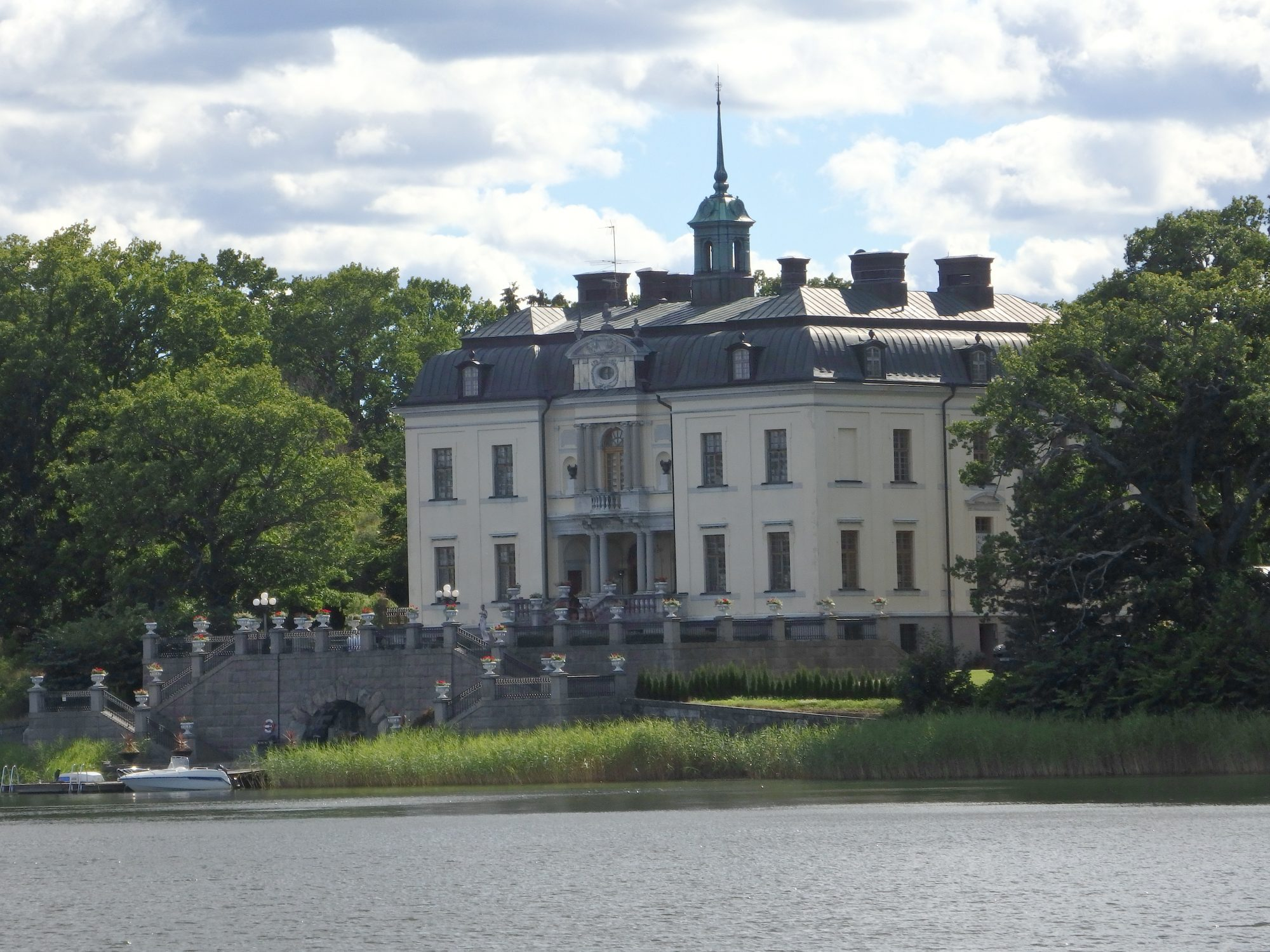 the manor house across from Gripsholm castle, Mariefred, Sweden