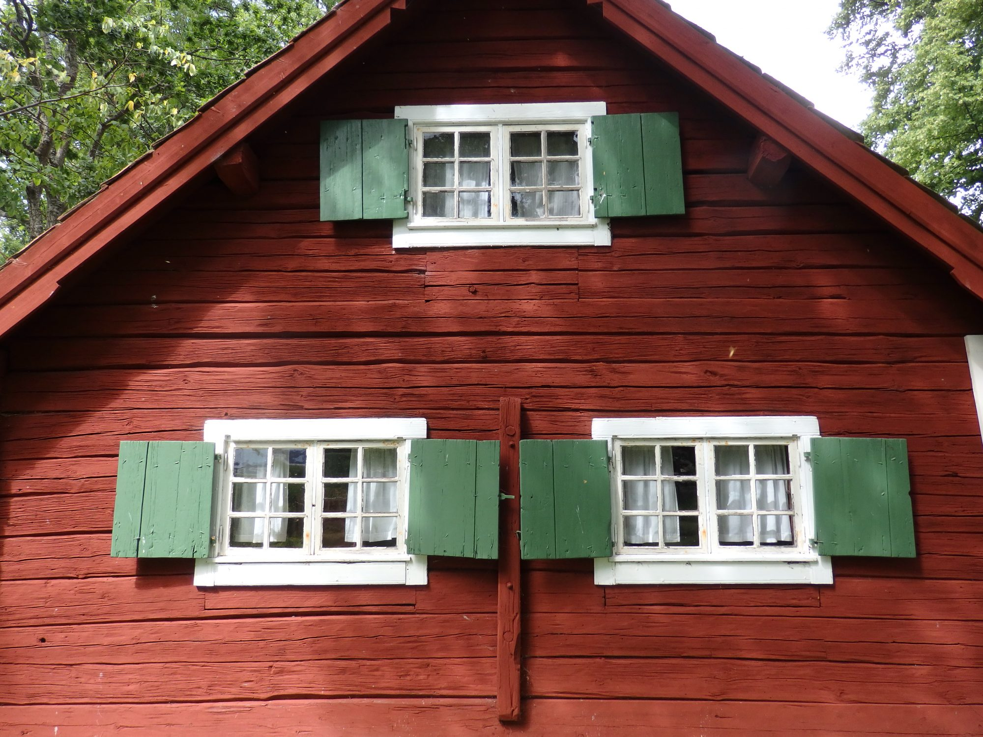one of the historical buildings added to the Julita estate, Sweden