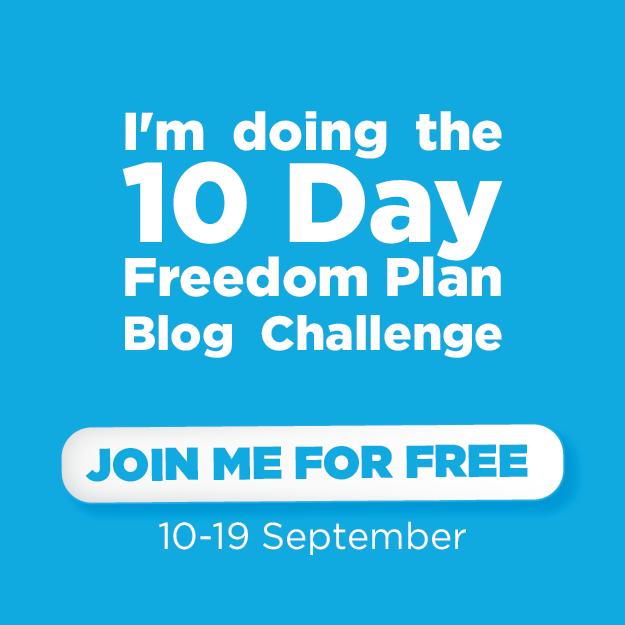 freedom plan blog challenge