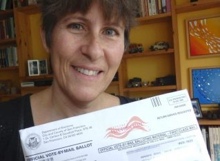 On Receiving my California Voter Ballot