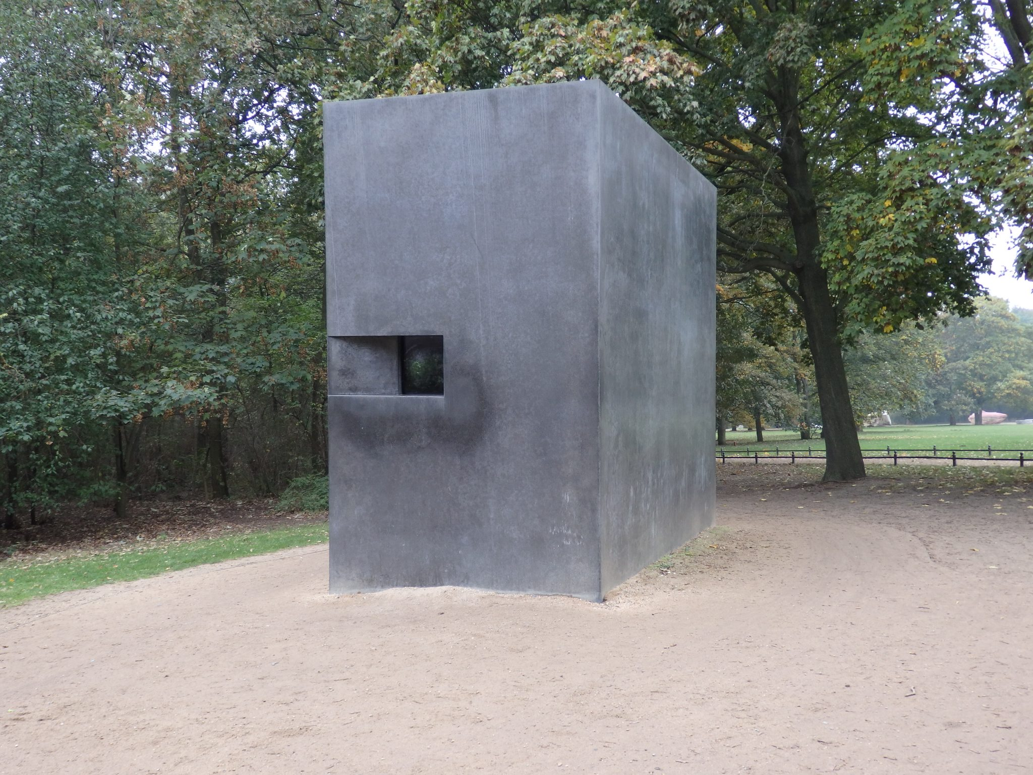the Memorial to Homosexuals Persecuted Under Nazism in Berlin