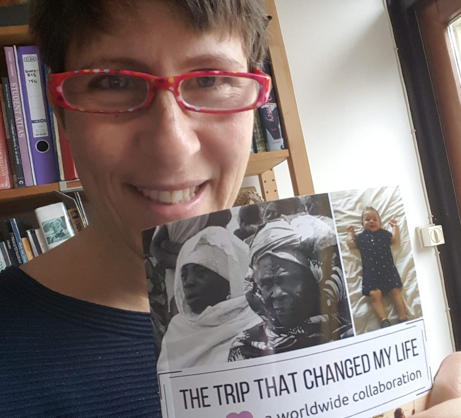 me with my copy of the book