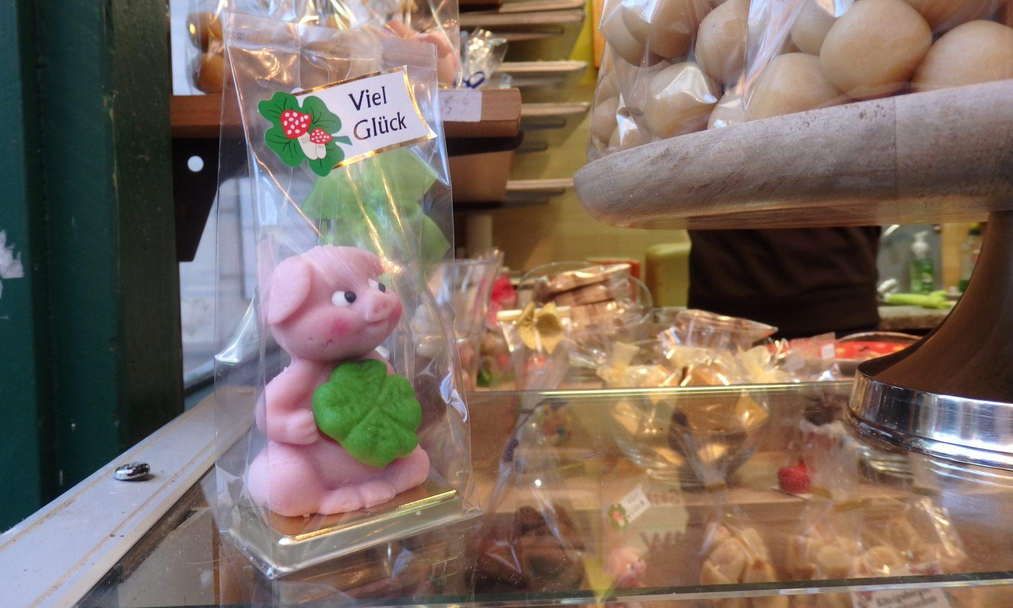 or a marzipan pig?