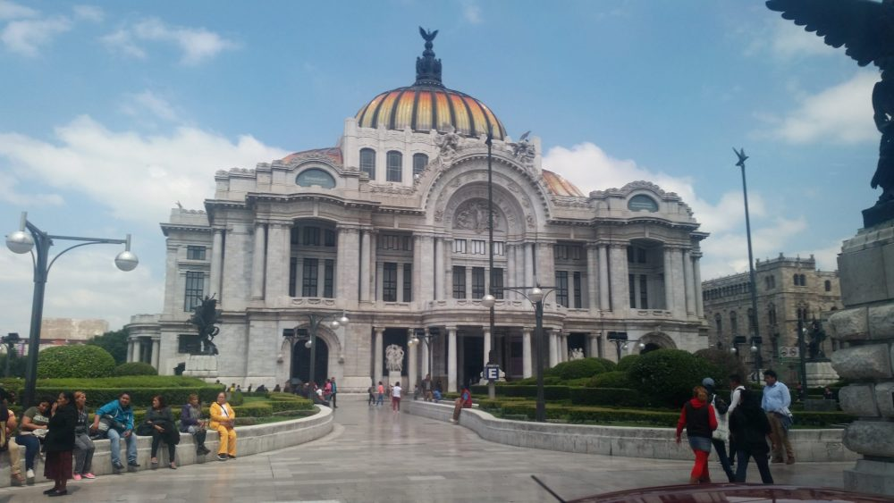Palacio de Bellas Artes (Palace of Fine Arts) in Mexico City. Photo courtesy of Michelle da Silva Richmond