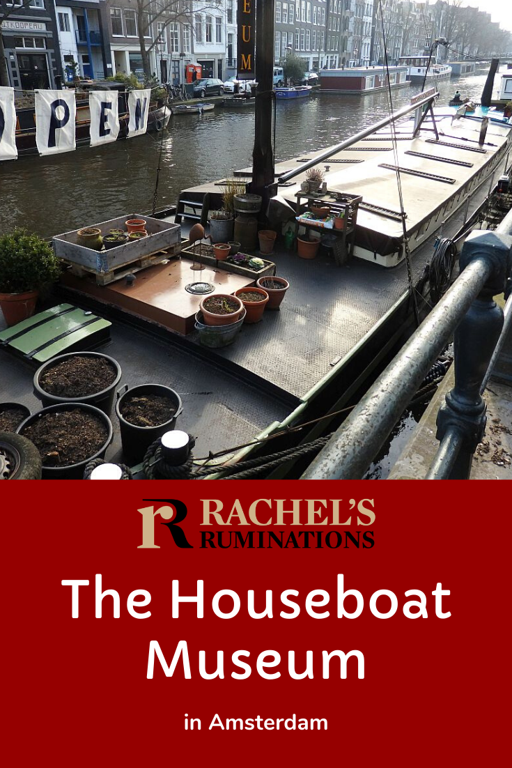 Ever considered living in a houseboat? The Houseboat Museum in #Amsterdam gives a glimpse of houseboat life: a very quick glimpse, given how small a vintage houseboat is. #houseboat via @rachelsruminations