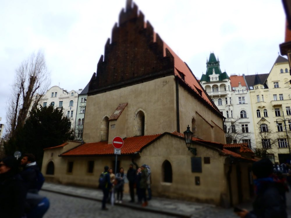 The Old-New Synagogue is one of the Jewish Museum's route through the synagogues in Prague