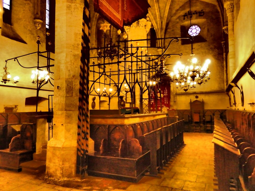 Inside the Old-New Synagogue