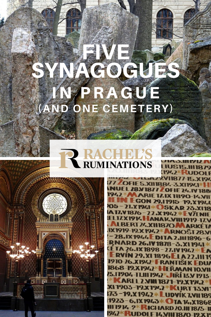 Five synagogues and a cemetery (with a ceremonial hall) are what remains of Prague's once-thriving Jewish neighborhood. Together, they now make up the Prague Jewish Museum. #prague #czechia #czechrepublic #synagogues #unescoworldheritage #jewishmuseum #rachelsruminations via @rachelsruminations