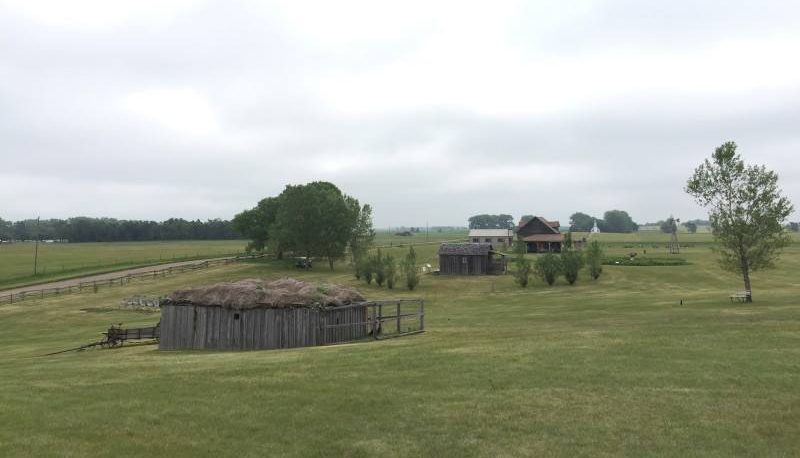a view of Ingalls Homestead in De Smet, South Dakota. photo courtesy of Deb Thompson.