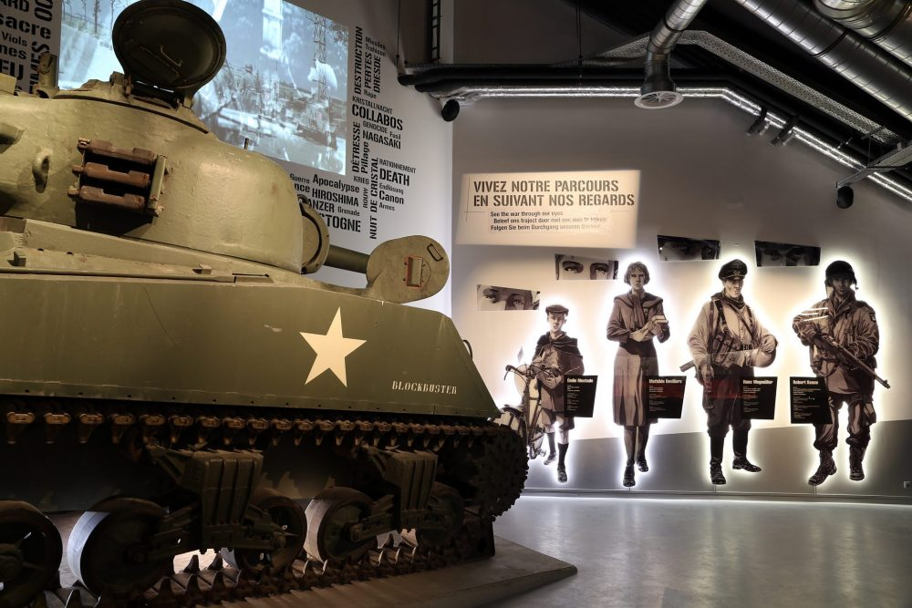Travel the Liberation Route Europe to the Bastogne War Museum. Photo courtesy of Liberation Route Europe.
