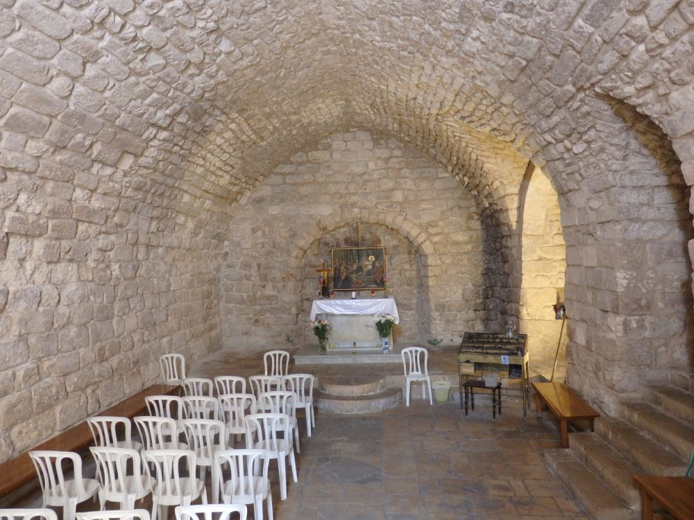 "The ""Synagogue Church"" is one of many churches in Nazareth."