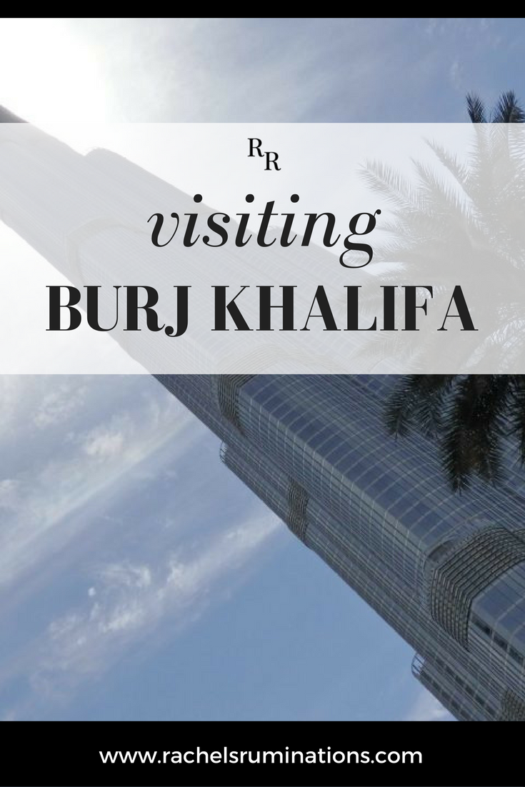 The price for visiting Burj Khalifa is — pun intended — over the top. But it's one of those things one almost HAS to do in Dubai. So I did.  #burjkhalifa #skyscraper #dubai #uae #c2cgroup via @rachelsruminations