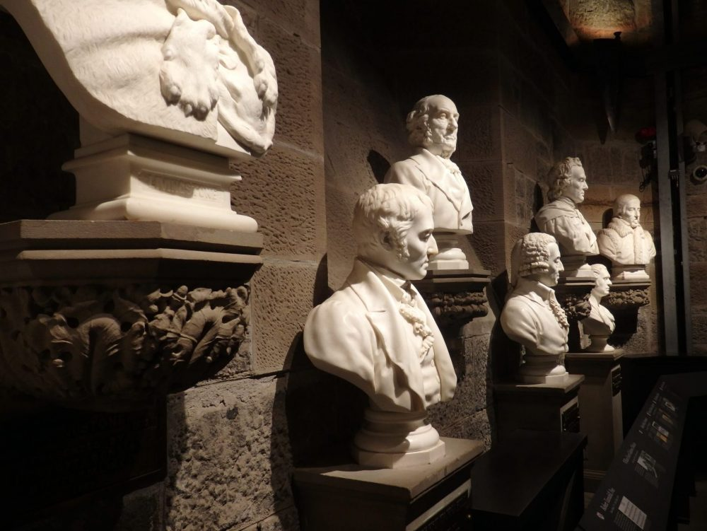 part of the collection of eminent Scots on display in the Wallace memorial