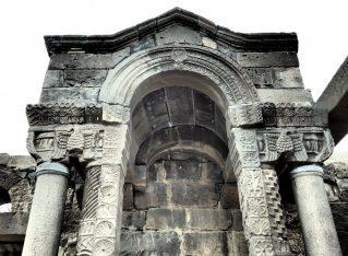 Um el Kanatir: ancient synagogue in the Golan Heights