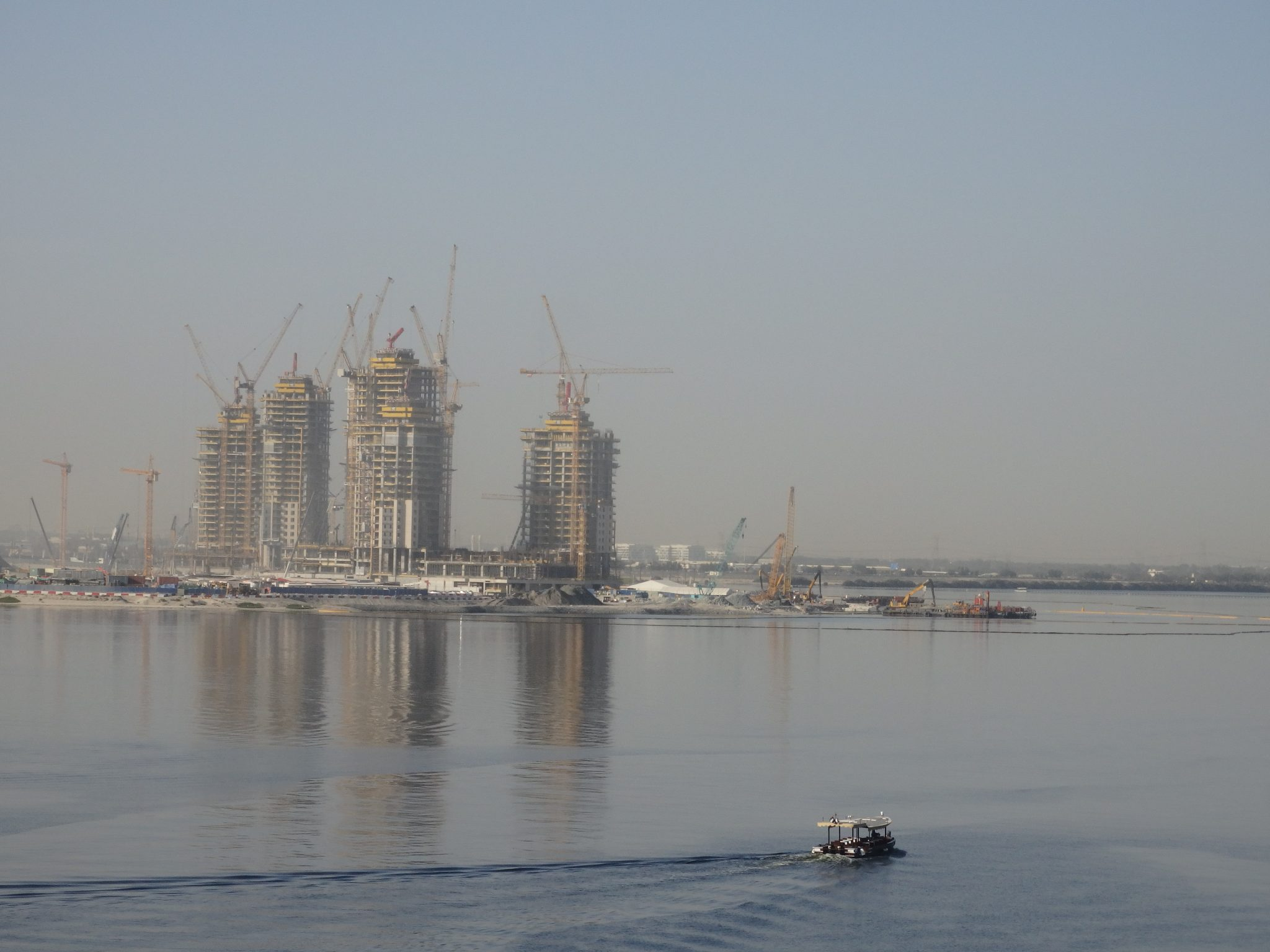 Construction has begun at the Tower at Dubai Creek
