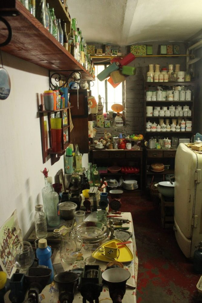 "The ""kitchen"" at the Communist Consumers Museum"